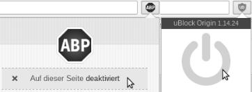Adblocker bitte abschalten