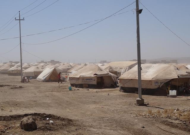 Flüchtlingslager im Nordirak (© Thomas v. der Osten-Sacken)