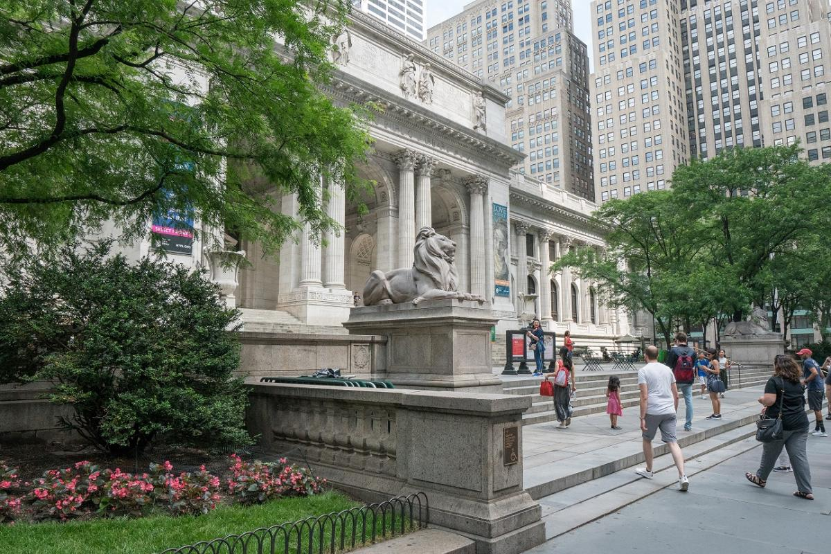 New Yorker Public Library