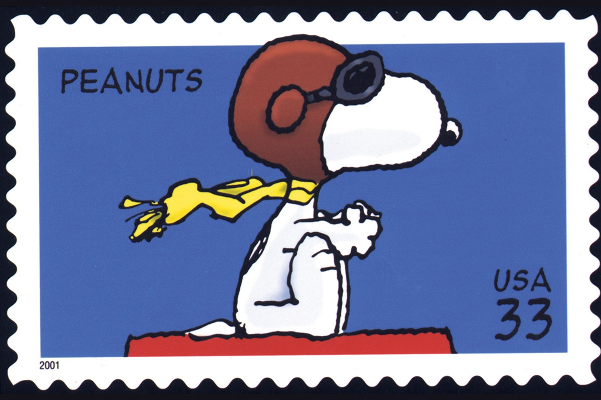 Peanuts Briefmarke USA 33 Cent