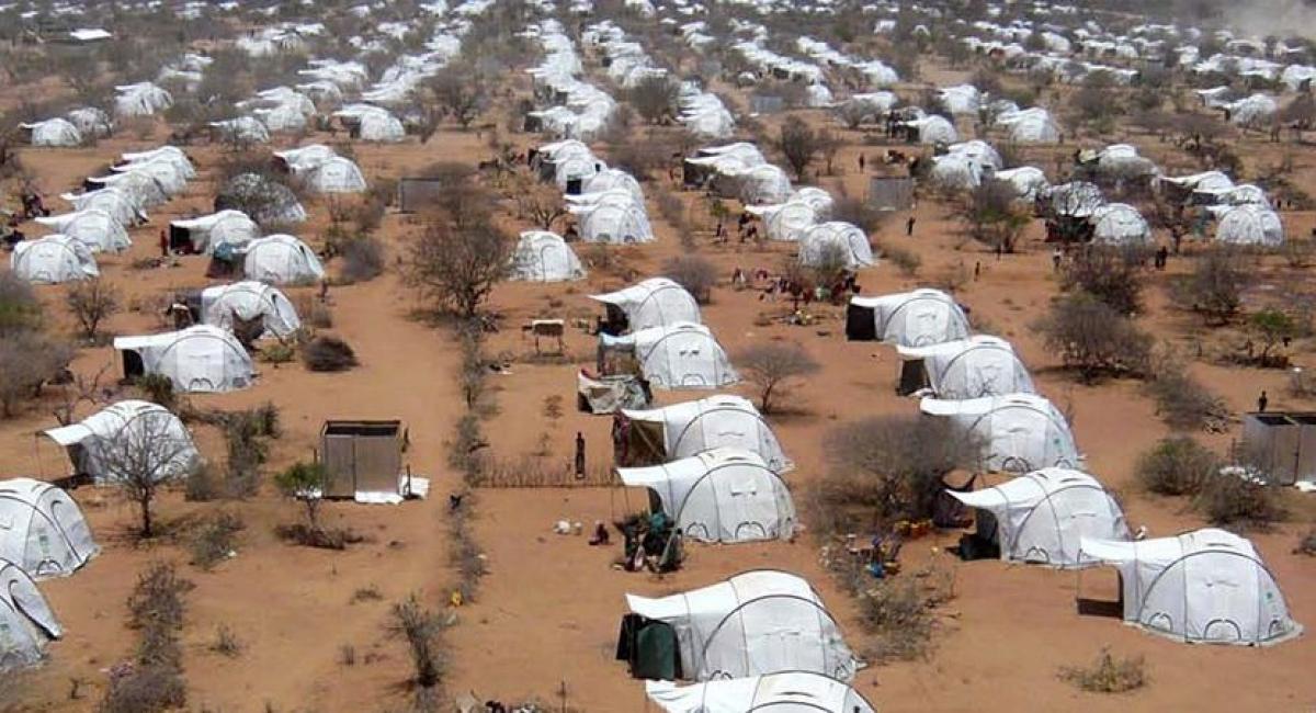 Unterkunft für 200.000: Das Dadaap Camp in Kenia, eines der größten Flüchtlingslager der Welt