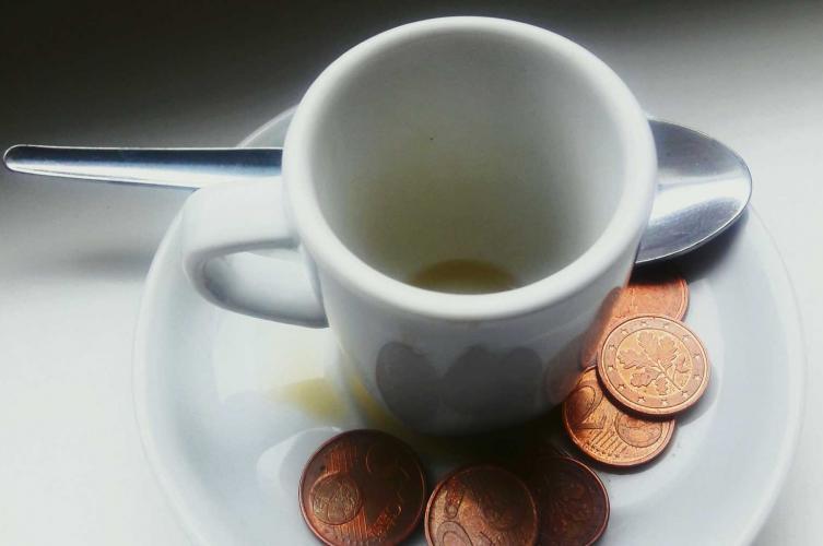 Trinkgeld in england