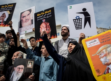 Demonstration, Teheran