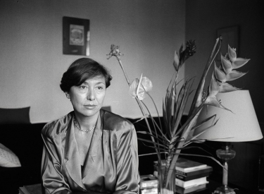 Julia Kristeva in Paris, 1987