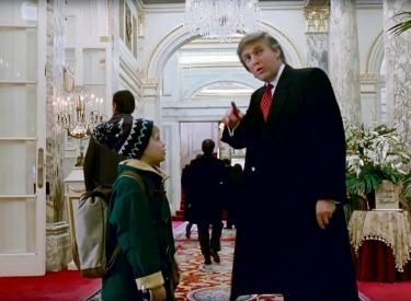 Donald Trump mit Kevin in »Home Alone 2«